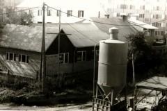 Rozbudowa części mieszkalnej - wrzesień 1985