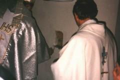 Wmurowanie kamienia węgielnego - 1996