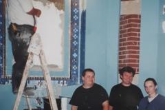 Budowa-kaplicy-Matki-Bozej-2002